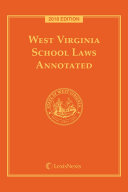 West Virginia School Laws Annotated