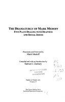 The Dramaturgy of Mark Medoff