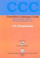 Classified Catalogue Code