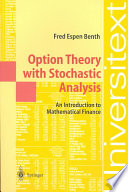 Option Theory With Stochastic Analysis Book PDF