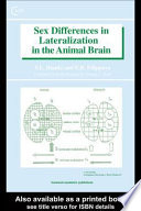 Sex Differences In Lateralization In The Animal Brain Book PDF
