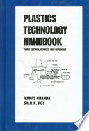 Plastics Technology Handbook  Third Edition  Book