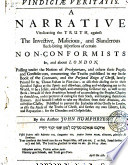 Vindici Veritatis A Narrative Vindicating The Truth Against The Aspersions Of Certain Non Conformists Concerning My Little Book Of The Covenants C