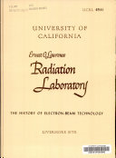 The History of Electron-beam Technology