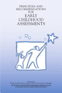 Principles and Recommendations for Early Childhood Assessments  1998