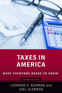 link to Taxes in America in the TCC library catalog