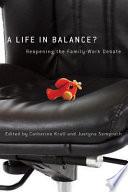 A Life In Balance  PDF