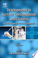 Developments in Surface Contamination and Cleaning  Volume 3