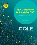 Leadership and Management: Theory and Practice