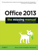Pdf Office 2013: The Missing Manual