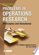 Problems In Operation Research Principles Solution