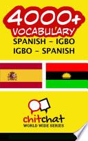 4000  Spanish   Igbo Igbo   Spanish Vocabulary