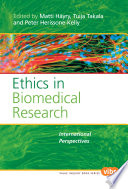 Ethics in Biomedical Research Book
