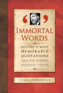 Immortal Last Words [Pdf/ePub] eBook
