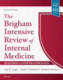 The Brigham Intensive Review of Internal Medicine Question & Answer Companion E-Book