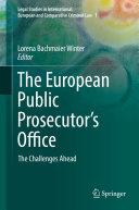 The European Public Prosecutor's Office [Pdf/ePub] eBook