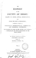 The history of the county of Derby, ed. by T. Noble