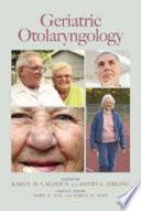 Geriatric Otolaryngology Book