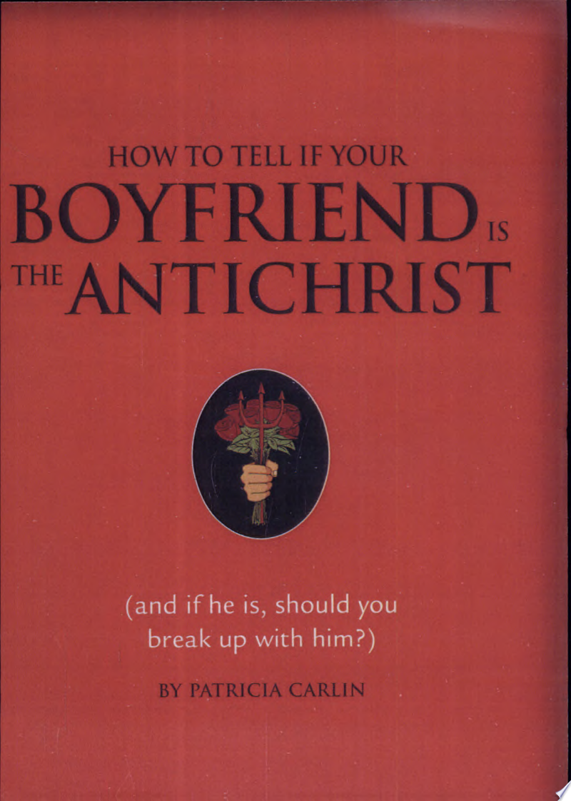 How to Tell If Your Boyfriend is the Antichrist banner backdrop