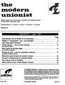 The Modern Unionist