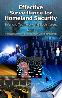 Effective Surveillance for Homeland Security