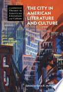 The City in American Literature and Culture