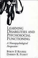 Learning Disabilities and Psychosocial Functioning