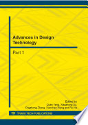 Advances in Design Technology Book
