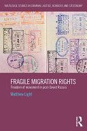 Pdf Fragile Migration Rights