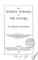 The Sunday Schools Of The Future By Marianne Farningham