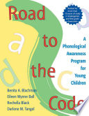 Road to the Code  : A Phonological Awareness Program for Young Children
