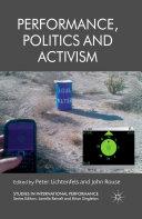 Pdf Performance, Politics and Activism Telecharger