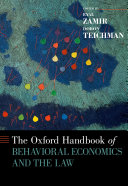 Pdf The Oxford Handbook of Behavioral Economics and the Law Telecharger