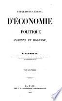 Repertoire General D'Economie