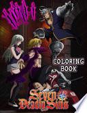 Seven Deadly Sins Coloring Book