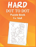 Hard Dot to Dot Puzzle Book For Adult