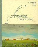 America Past and Present Book PDF