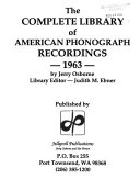 Pdf The Complete Library of American Phonograph Recordings