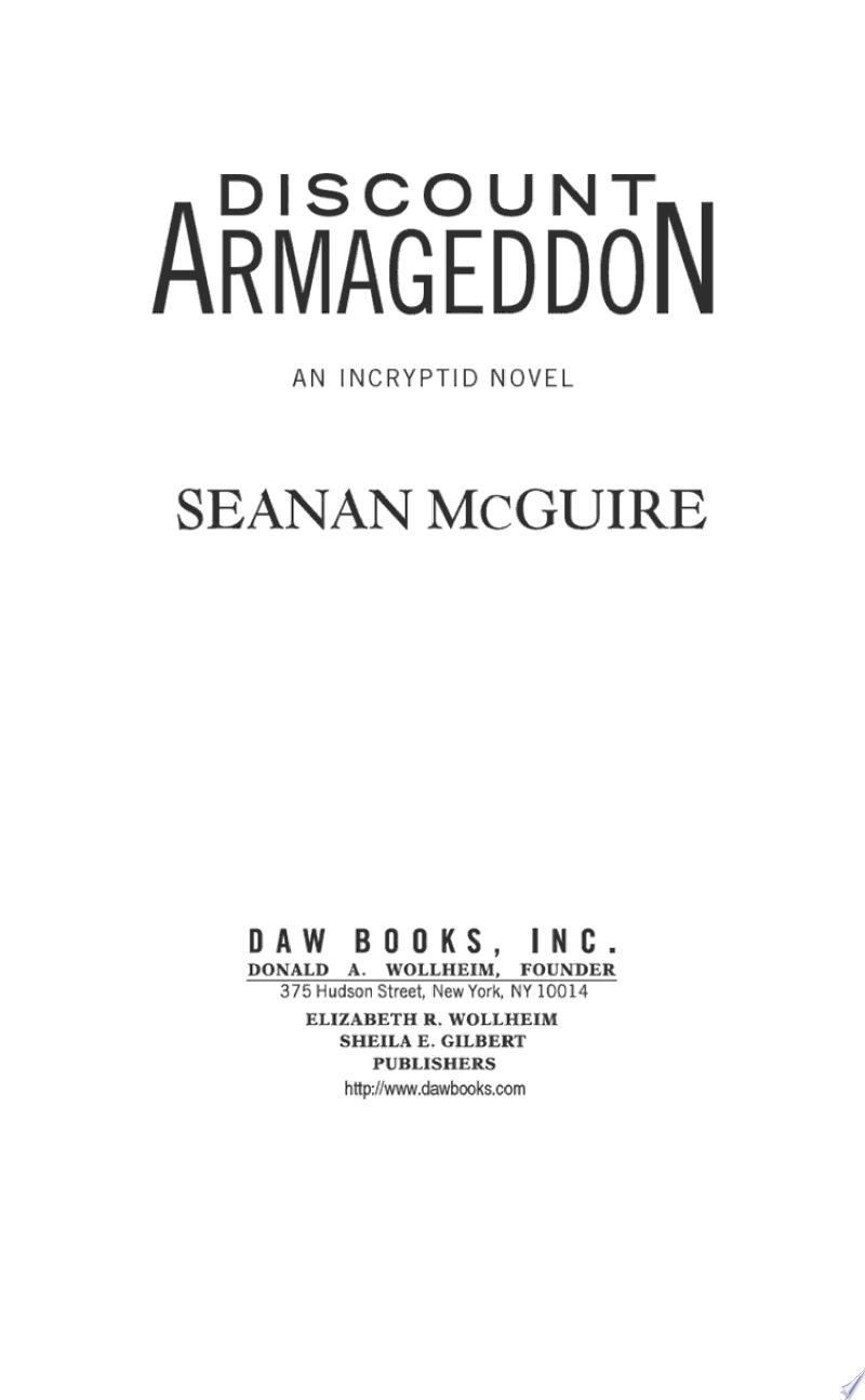 Discount Armageddon banner backdrop