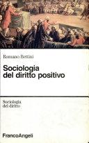 Sociologia del diritto positivo