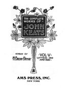 The Complete Works of John Keats: Letters, 1819 and 1820