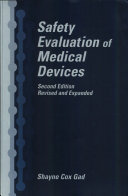 Safety Evaluation of Medical Devices ebook