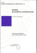 Models of Constitutional Jurisdiction Pdf/ePub eBook