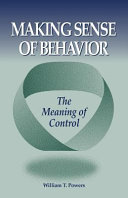 Making Sense of Behavior