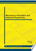 Mechanical  Information and Industrial Engineering Book