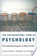 The Sociocultural Turn In Psychology