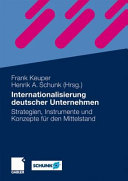 Internationalisierung deutscher Unternehmen