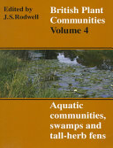 British Plant Communities: Volume 4, Aquatic Communities, Swamps and Tall-Herb Fens