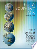 East and Southeast Asia 2015 2016 Book