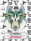 50 Animals Coloring Sketchbook